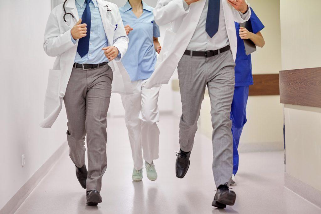 doctors running marathon