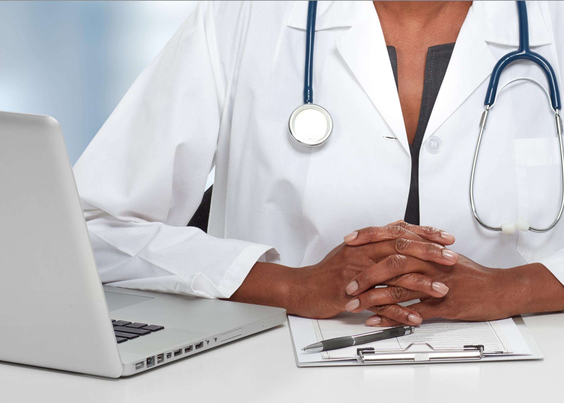 black physician